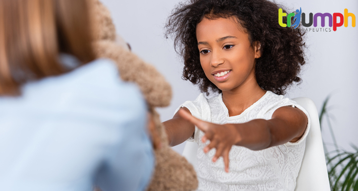 A child with autism spectrum disorder can benefit from occupational therapy treatments   Triumph Therapeutics   Speech Therapy, Occupational Therapy, Physical Therapy in Washington DC