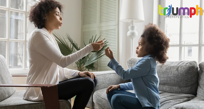 how a speech therapist can help children experiencing apraxia of speech   Triumph Therapeutics   Speech Therapy, Occupational Therapy, Physical Therapy in Washington DC
